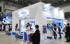 Epson Exhibits at Eco-Products 2014