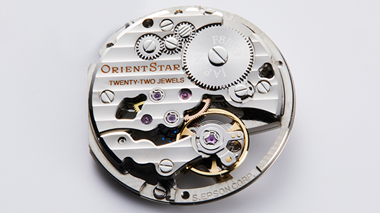 ORIENT - Mechanical Watch Design Technology
